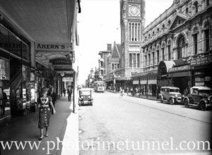 Hay Street Perth, WA, 1936.