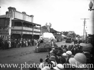 Procession in High Street, Maitland, NSW. Circa 1930s.