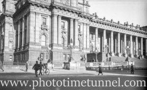 Parliament House, Melbourne, Victoria, 1936.