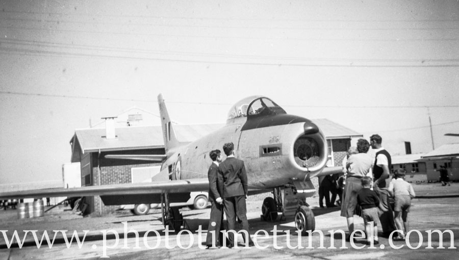 When Sabre jets crashed on Newcastle