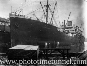 Ship, Moreton Bay.