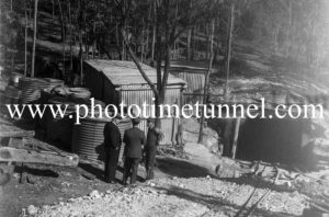 View of an unidentified colliery in the Hunter Valley, circa 1940s.