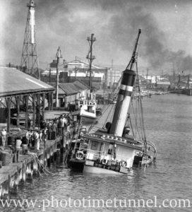 Boambee, an unlucky steamer