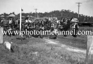 Miners meet over a stay-in strike at Teralba, NSW, April 9, 1943. (4)