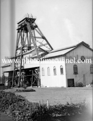 John Darling colliery, Belmont, NSW, August 7, 1945. (1)