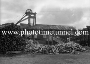 Stockton Borehole colliery, Teralba (Newcastle, NSW) August 7, 1945.