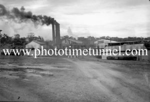 Unidentified colliery scene near Newcastle, NSW, August 7, 1945.