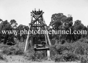 Old pit head, Lambton, Newcastle, NSW. December 6, 1937. (1)