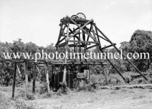 Old pit head, Lambton, Newcastle, NSW. December 6, 1937. (2)