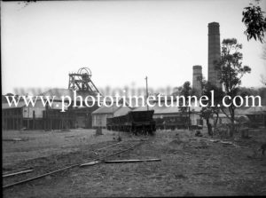 Seaham No.2 colliery, West Wallsend (Newcastle, NSW) August 7, 1945.