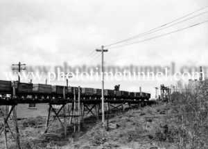 Mining resumes after a stoppage at a Hunter Valley colliery (NSW), May 20, 1940. (3)