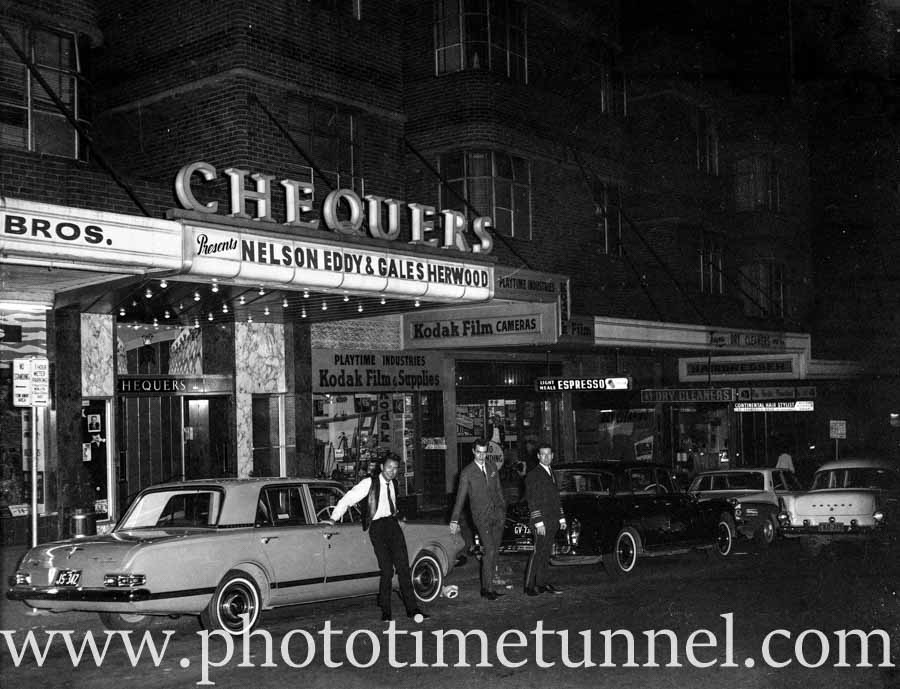 Chequers, a swinging hotspot in sixties Sydney
