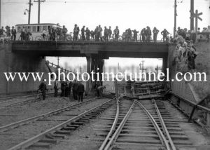 Truck accident at Islington, Newcastle, NSW, December 8, 1937. (2)