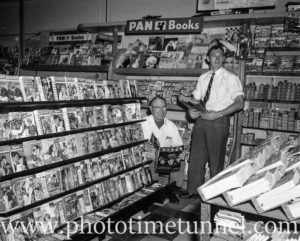 Poole's newsagency, Adamstown, Newcastle, NSW, in the 1960s. (6)