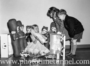 1960s Christmas toy display at Newcastle store Dickens and Carey. (5)