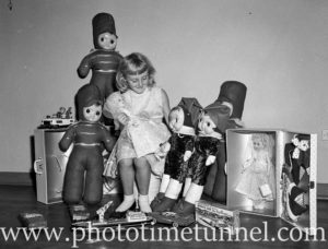 1960s Christmas toy display at Newcastle store Dickens and Carey. (6)