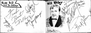 How Neville got Bill Haley's autograph