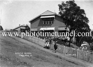 Taringa State School, Brisbane, Queensland, early 20th century.