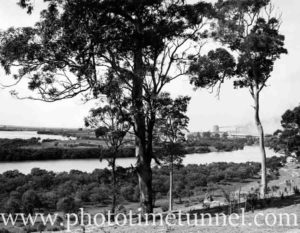 Lost islands of the Hunter River