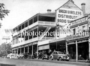 Australian Hotel, Wagga Wagga, NSW c1950s.
