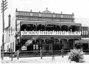 Commercial Hotel Richmond, NSW circa 1940s.