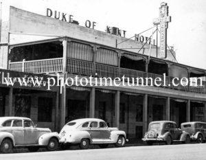 Duke of Kent Hotel, Wagga Wagga, NSW c1950s.