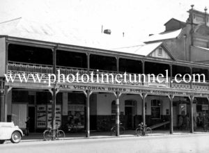 Exchange Hotel Wagga Wagga, NSW, c1950s.