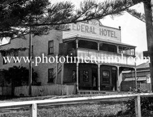 Federal Hotel, South West Rocks, NSW circa 1940s.
