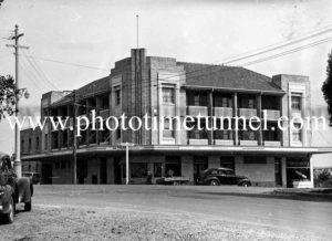 Fotheringham's Hotel, Taree, NSW c1950s.