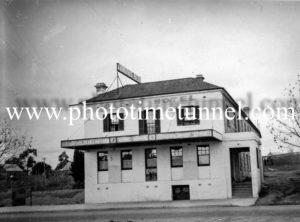 Globe Hotel, Rylstone, NSW circa 1940s.