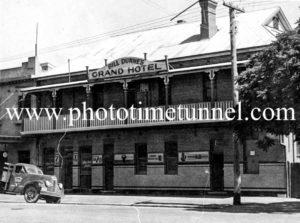 Grand Hotel, Wagga Wagga, NSW c1950s.