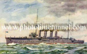 HMAS Melbourne (I).