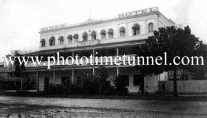 Hides Hotel, Cairns, Queensland, c1940s.