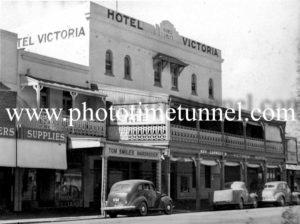 Hotel Victoria, Wagga Wagga, NSW c1950s.