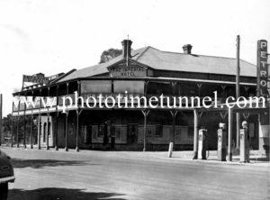 Imperial Hotel, Wagga Wagga, NSW c1950s.