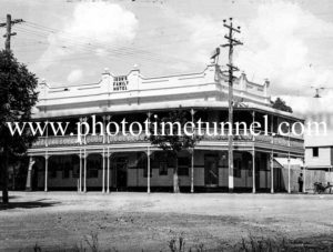 Ison's Family Hotel, Tamworth, NSW circa 1940s.