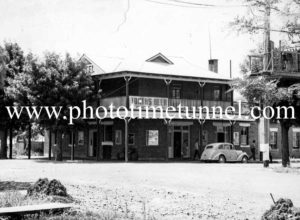 Locomotive Hotel, Tamworth, NSW, c1950s.