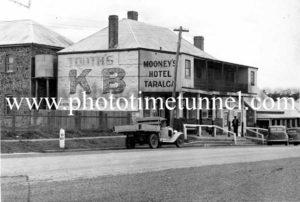 Moroney's Hotel, Taralga, NSW circa 1950s.