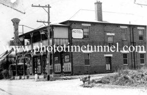 Hotel at North Richmond, NSW circa 1940s.