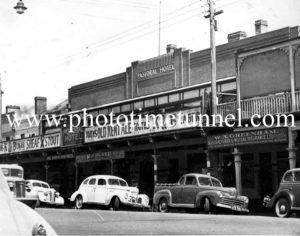 Pastoral Hotel, Wagga Wagga, NSW c1950s.