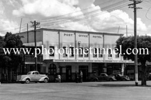 Post Office Hotel, Tamworth, NSW, circa 1950s.