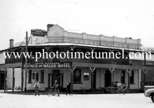 Prince of Wales Hotel, Wagga Wagga, NSW c1940s.