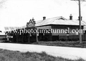 Railway Hotel, Spring Hill, NSW circa 1940s.