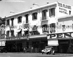 Royal Hotel Tamworth, NSW circa 1940s.