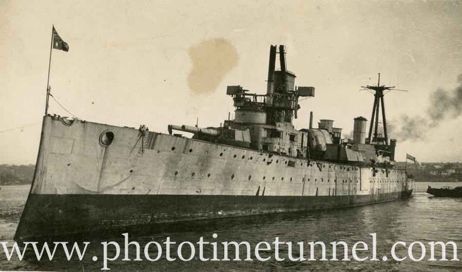 The end of HMAS Australia