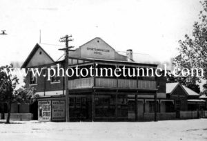 Sportsmens' Club Hotel, Wagga Wagga, NSW c1940s.