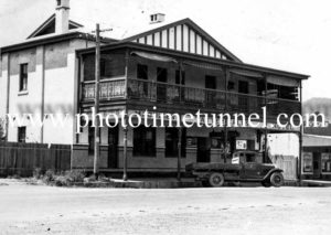 Tattersalls Hotel, Tamworth, NSW c1940s.
