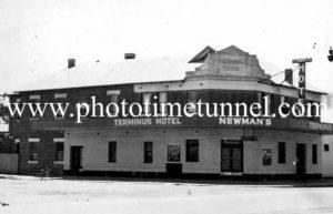 Terminus Hotel, Wagga Wagga, c1950s.