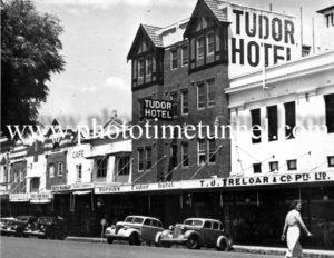 Tudor Hotel, Tamworth, NSW circa 1950s.