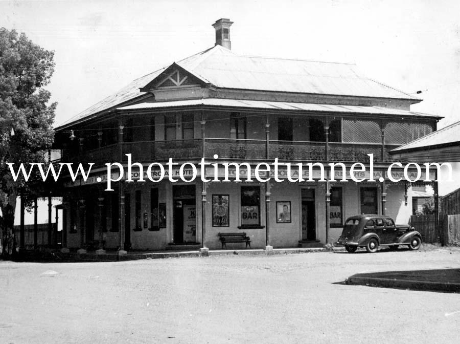 Commercial Hotel, Ulmarra, NSW, circa 1950s.